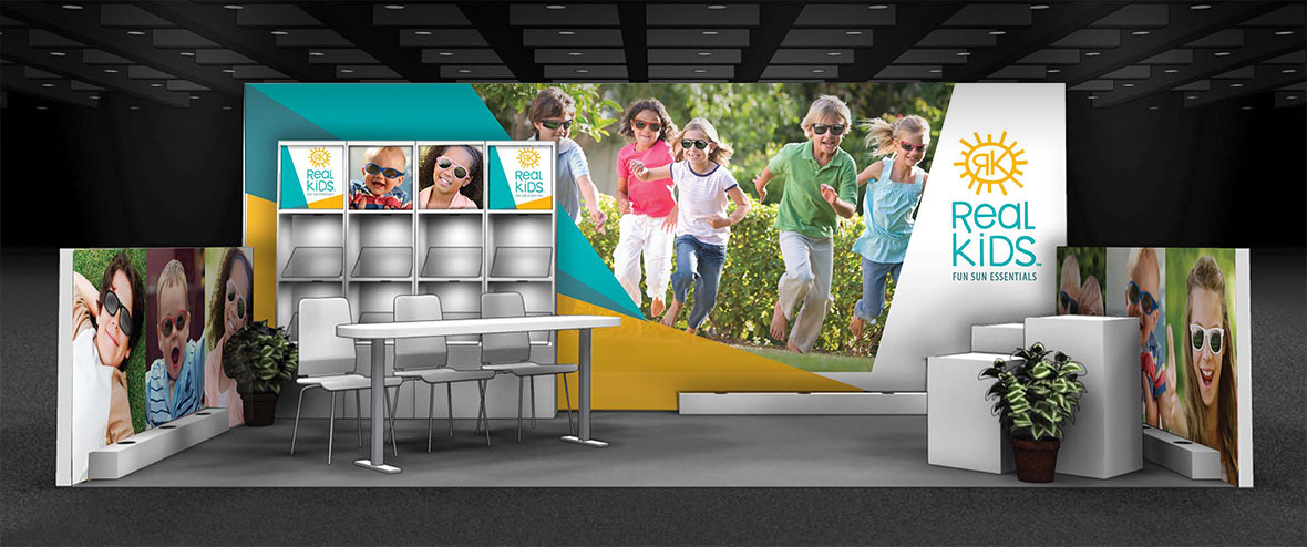 Exhibition Stand Kids : Booth design for kids and the necessary