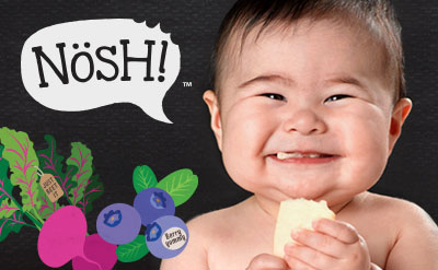 Nosh Branding, the baby and tot snack specialists
